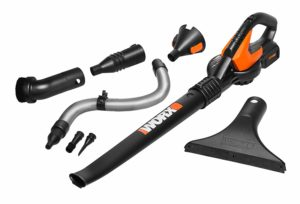 Worx WG575.1 AIR 32V Cordless Battery-Powered Leaf Blower